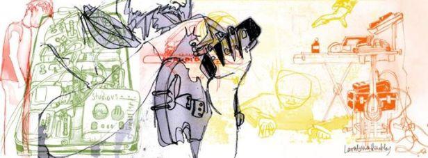 Yoko Pwno Drawing