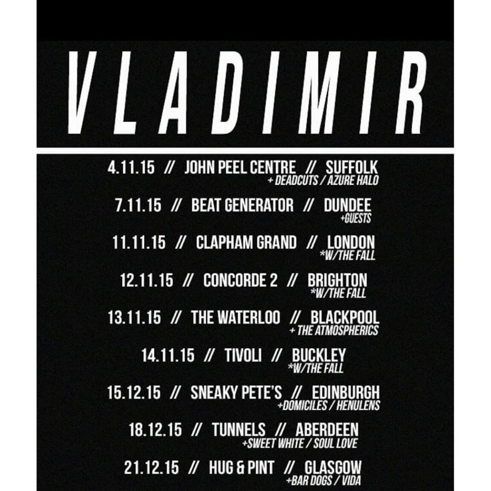 Vladimir Gig Dates